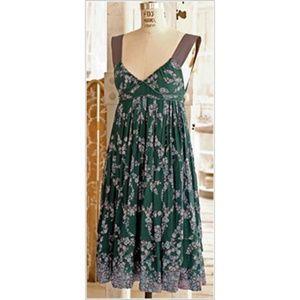 Rebecca Taylor Bohemian Paisley Print Dress